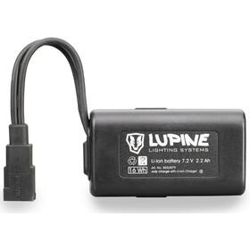 Lupine 2.2 Ah Hardcase FastClick svart